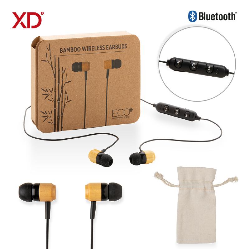 Audifonos Bluetooth Bamboo